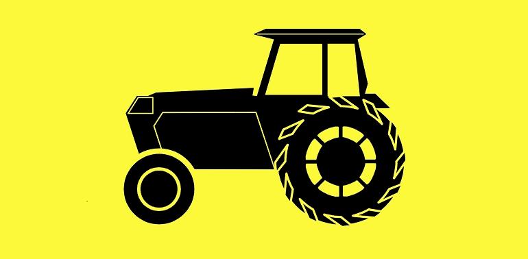 Jedzie traktor z daleka, na nikogo nie czeka