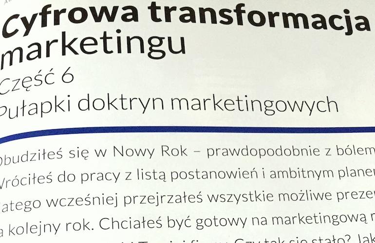 Pułapki doktryn marketingowych